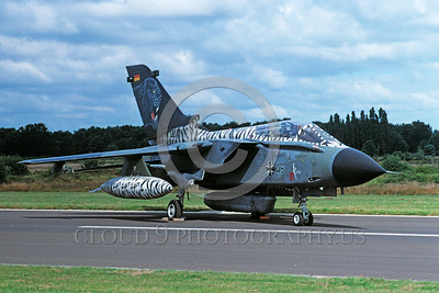EE-Tornado 00019 A static colorful Panavia Tornado German Air Force 7-2000 military airplane picture by Wilfreid Zetsche