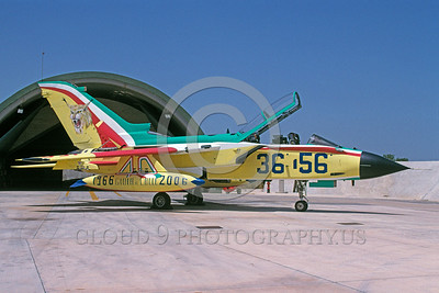 EE-Tornado 00014 A static colorful Panavia Tornado Italian Air Force fighter-bomber 6-2006 military airplane picture via African Aviation Slide Service