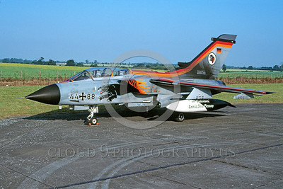 EE-Tornado 00013 A static colorful Panavia Tornado German Air Force fighter-bomber 5-2000 military airplane picture via African Aviation Slide Service