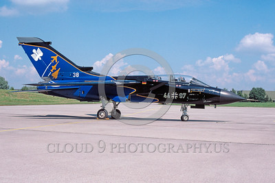 EE-Tornado 00009 A static colorful Panavia Tornado German Air Force fighter-bomber military airplane picture by Wilfreid Zetsche