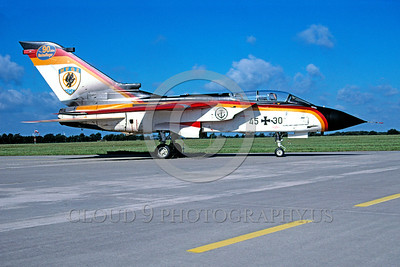 EE-Tornado 00011 A static colorful Panavia Tornado German Air Force fighter-bomber 9-2004 military airplane picture via African Aviation Slide Service