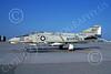 F-4USMC 00293 A static McDonnell Douglas F-4B Phantom II USMC 150423 VMFA-323 DEATH RATTLERS commanding officer's plane WS code NAS Moffett 7-1973 military airplane picture by Michael Grove, Sr
