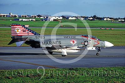 BICEN-F-4 00003 McDonnell Douglas F-4 Phantom II VMFA-232 by Masumi Wada