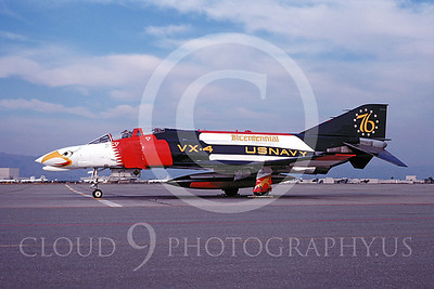 BICEN-F-4 00001 McDonnell Douglas F-4 Phantom II USN VX-4 by Michael Grove, Sr