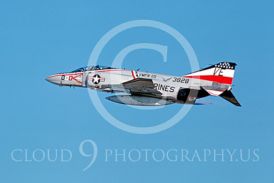 BICEN-F-4 00004 McDonnell Douglas F-4 Phantom II VMFA-115 NAF Atsugi 1976 by Masumi Wada