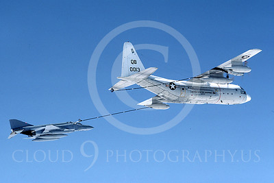ARF4 00001 McDonnell Douglas F-4 Phantom II US Marine Corps and Lockheed KC-130 by Peter J Mancus