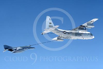 ARF4 00001 McDonnell Douglas F-4 Phantom II US Marine Corps and Lockheed KC-130 by Peter J Mancus