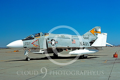 BICEN-F-4 00013 McDonnell Douglas F-4 Phantom II VF-103 NAS Oceana 31 July 1976 by David Ostrowski