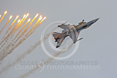 FLARE 00011 Lockheed Martin F-16 Fighting Falcon by Peter J Mancus
