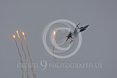 FLARE 00009 Lockheed Martin F-16 Fighting Falcon Netherlands Air Force by Peter J Mancus