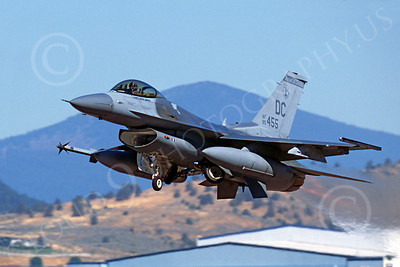 F-16ANG 00178 Lockheed Martin F-16 Fighting Falcon District of Columbia Air National Guard 85455 by Peter J Mancus