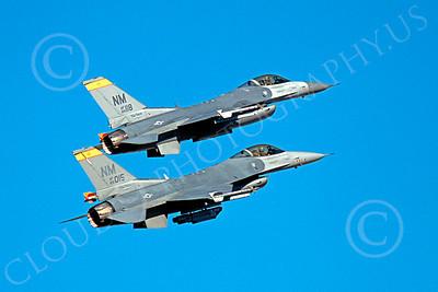 F-16ANG 00160 Lockheed Martin F-16 Fighting Falcon New Mexico Air National Guard 89015 by Peter J Mancus