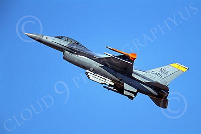 F-16ANG 00182 Lockheed Martin F-16 Fighting Falcon New Mexico Air National Guard 88499 by Peter J Mancus