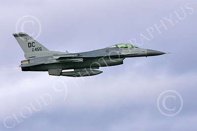 F-16ANG 00136 Lockheed Martin F-16 Fighting Falcon District of Columbia Air National Guard 85455 by Paul Ridgway