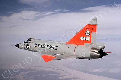 F-102ANG 00012 Convair F-102A Delta Dagger Minnesota ANG 61476 October 1970 by Wayne Gatlin