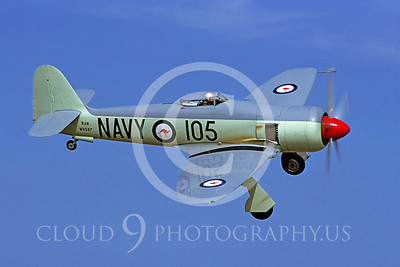 WB - Hawker Sea Fury 00008 Hawker Sea Fury by Stephen W D Wolf