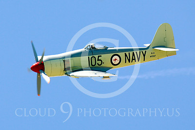 WB - Hawker Sea Fury 00028 Hawker Sea Fury by Peter J Mancus