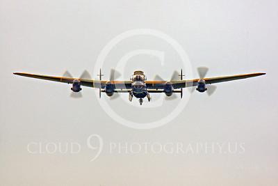 WB - Avro Lancaster 00038 Avro Lancaster British RAF warbird by Peter J Mancus