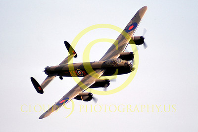 WB - Avro Lancaster 00022 Avro Lancaster British RAF markings by Peter J Mancus