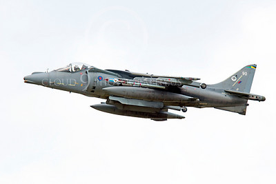 BAE Harrier 00054 BAE Harrier British RAF ZG858 by Alasdair MacPhail