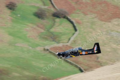 EMBRAER EMB-312 Tucano 00072 EMBRAER EMB-312 Tucano British RAF ZF338 by Alasdair MacPhail