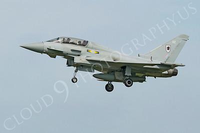 Eurofighter Typhoon 00096 Eurofighter Typhoon British RAF ZJ811 by Alasdair MacPhail