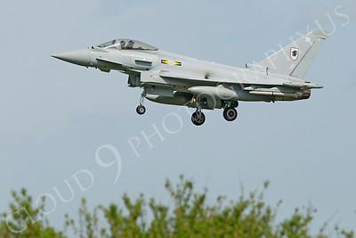 Eurofighter Typhoon 00090 Eurofighter Typhoon British RAF ZJ933 by Alasdair MacPhail