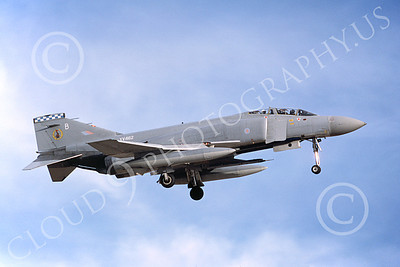 F-4Forg 00202 McDonnell Douglas F-4 Phantom II British RAF XV462 11-1987 military airplane picture by Wilfreid Zetsche