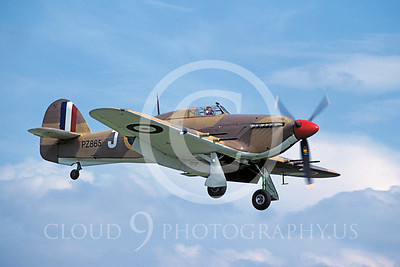 WB - Hawker Hurricane 00034 Hawker Hurricane British RAF warbird markings by Peter J Mancus