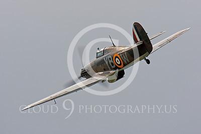 WB - Hawker Hurricane 00032 Hawker Hurricane British RAF warbird markings by Peter J Mancus