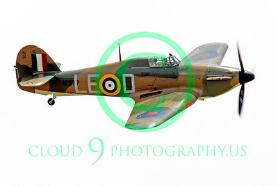 WB - Hawker Hurricane 00056 Hawker Hurricane British RAF warbird markings by Peter J Mancus