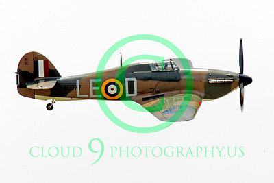 WB - Hawker Hurricane 00048 Hawker Hurricane British RAF warbird markings by Peter J Mancus