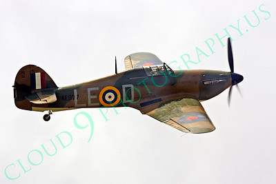 WB - Hawker Hurricane 00066 Hawker Hurricane British RAF World War II fighter warbird by Peter J Mancus