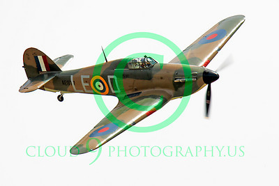 WB - Hawker Hurricane 00054 Hawker Hurricane British RAF warbird markings by Peter J Mancus