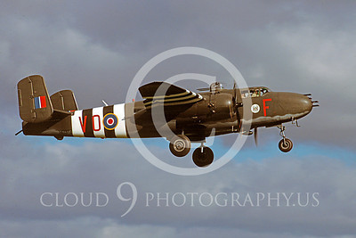 WB - North American B-25 Mitchell 00132 North American B-25 Mitchell British RAF warbird markings by Peter J Mancus