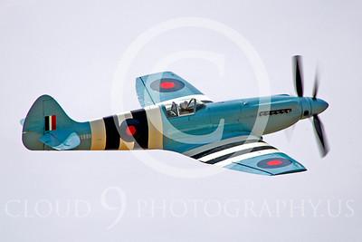 WB - Vickers-Supermarine Spitfire 00246 Vickers-Supermarine Spitfire British RAF warbird by Peter J Mancus