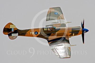 WB - Vickers-Supermarine Spitfire 00178 Vickers-Supermarine Spitfire British RAF warbird by Peter J Mancus