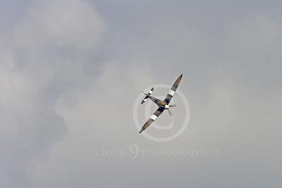 WB - Vickers-Supermarine Spitfire 00260 Vickers-Supermarine Spitfire British RAF World War II fighter warbird by Stephen W D Wolf