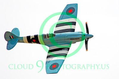 WB - Vickers-Supermarine Spitfire 00176 Vickers-Supermarine Spitfire British RAF warbird by Peter J Mancus