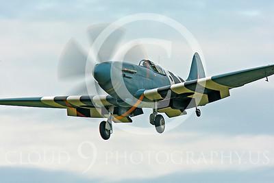 WB - Vickers-Supermarine Spitfire 00256 Vickers-Supermarine Spitfire British RAF warbird by Peter J Mancus