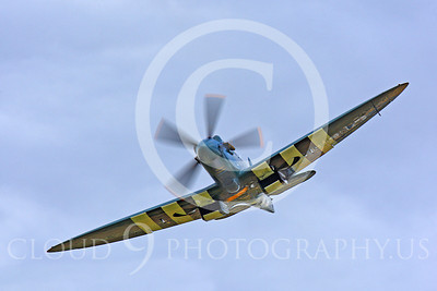 WB - Vickers-Supermarine Spitfire 00242 Vickers-Supermarine Spitfire British RAF warbird by Peter J Mancus