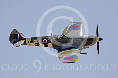 WB - Vickers-Supermarine Spitfire 00294 Vickers-Supermarine Spitfire British RAF World War II fighter warbird by Peter J Mancus
