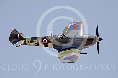 WB - Vickers-Supermarine Spitfire 00294 Vickers-Supermarine Spitfire British RAF World War II fighter warbird by Peter J Mancus
