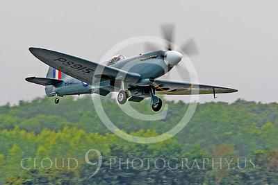 WB - Vickers-Supermarine Spitfire 00188 Vickers-Supermarine Spitfire British RAF warbird by Peter J Mancus