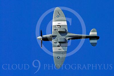 WB - Vickers-Supermarine Spitfire 00270 Vickers-Supermarine Spitfire British RAF World War II fighter warbird by Stephen W D Wolf