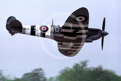 WB - Vickers-Supermarine Spitfire 00180 Vickers-Supermarine Spitfire British RAF warbird by Peter J Mancus