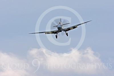 WB - Vickers-Supermarine Spitfire 00298 Vickers-Supermarine Spitfire British RAF warbird by Peter J Mancus