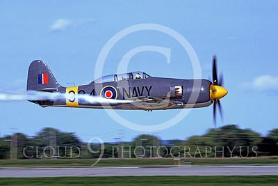 WB - Hawker Sea Fury 00032 Hawker Sea Fury by Peter J Mancus