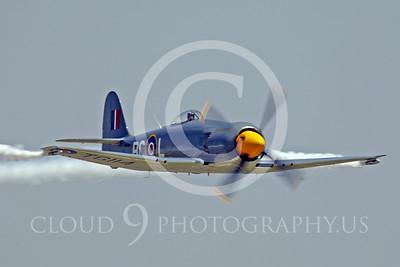WB - Hawker Sea Fury 00040 Hawker Sea Fury by Peter J Mancus
