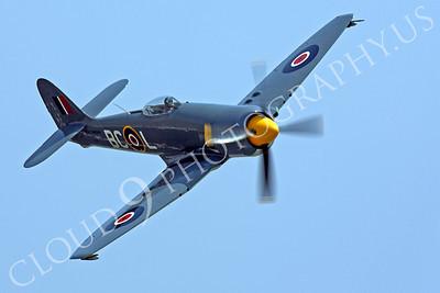 WB - Hawker Sea Fury 00048 Hawker Sea Fury Canadian Armed Forces Korean War era fighter warbird Argonaut by Peter J Mancus